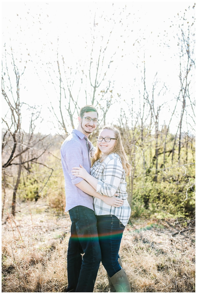 Tandy Hill Engagement Session - Engagement Session 2018 - Hannah Hays Photography - Bride & Groom To Be - Color Powder Engagement Session - Fun Colors - Colored Powder - Love - Engagement - Tandy Hills - Fort Worth Texas