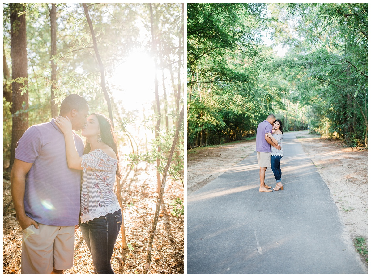 Engagement Session - Hannah Hays Photography - Vintage Park - Conroe Texas - Houston Texas - Kickarillo Perserve - Bride & Groom To Be - March Wedding
