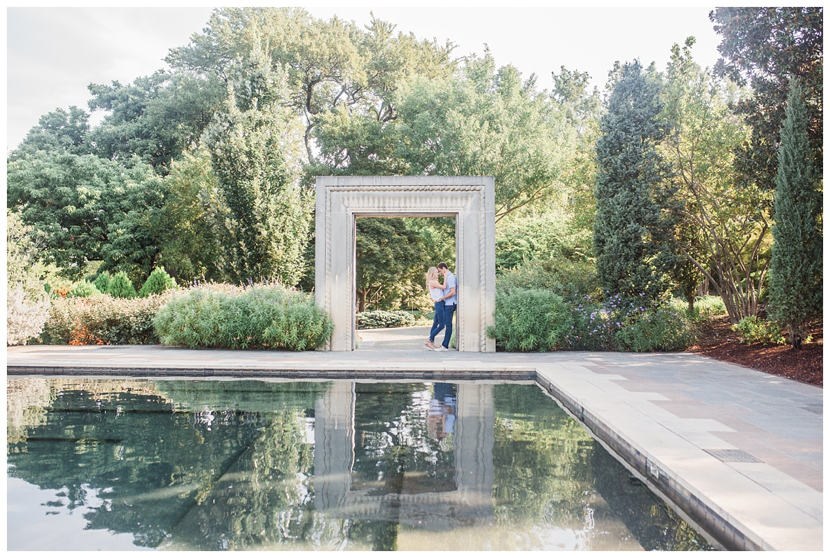 Hannah Hays Photography, Dallas Texas, Dallas Botanical Gardens, Engagement Session, Summer Engagement, Dallas Arboretum, Marriage,