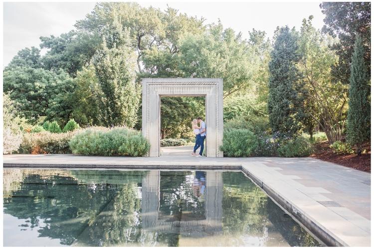 Hannah Hays Photography, Dallas Texas, Dallas Botanical Gardens, Engagement Session, Summer Engagement, Dallas Arboretum, Marriage,